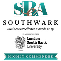 SBA Southwark Business Excellence Awards 2019